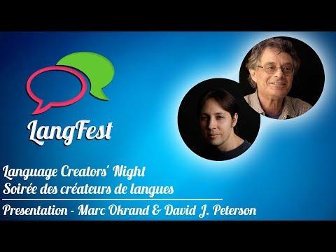 Marc Okrand & David J. Peterson - Language Creators' Night