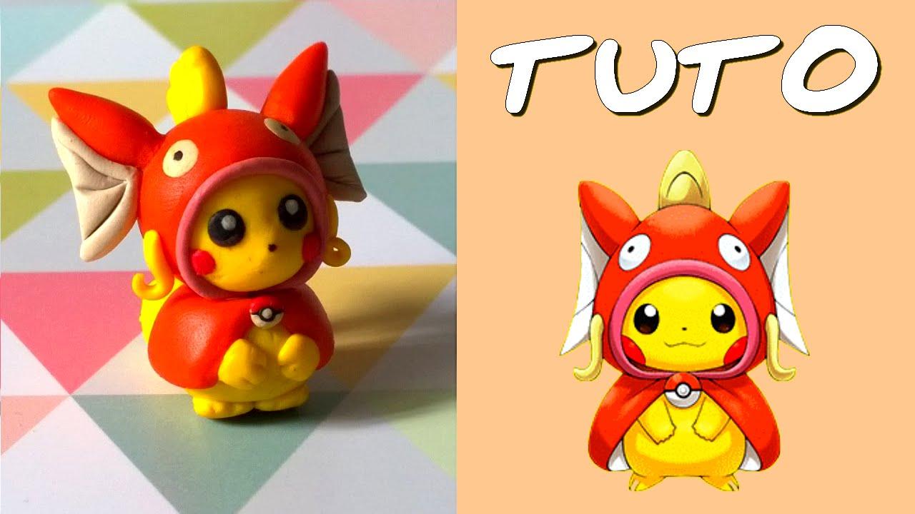 Super TUTO FIMO | Pikachu cosplay Magicarpe / Magikarp (de Pokémon  SJ42