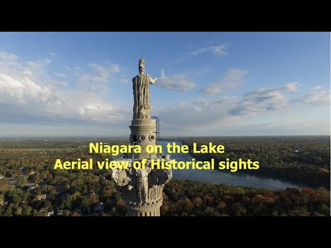 Niagara on the Lake Aerial view of Historical sights