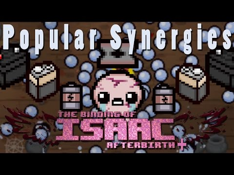 The Binding of Isaac Afterbirth Plus | Infinite Tear Wave | Popular Synergies