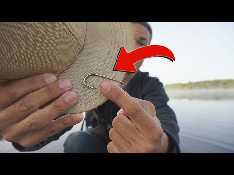 Can You Catch a Bass on a Hat Hook? (Fishing Challenge!)