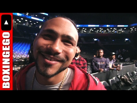 """KEITH THURMAN """"MANNY PACQUIAO, I LOVE IT, THAT'S THE LEGENDARY FIGHT"""" REACTS TO #BERTOPORTER OUTCOME"""