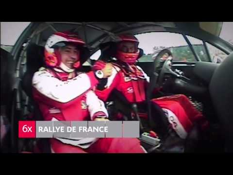 Citroën WRC 2013 - Homenaje a Sébastien Loeb y Daniel Elena