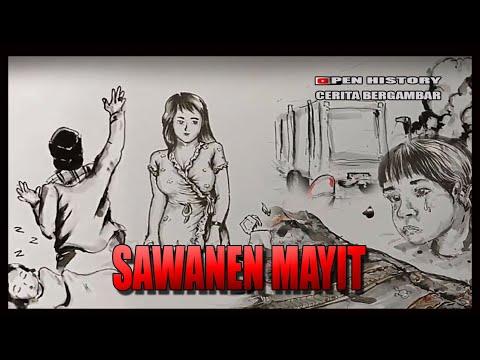 SAWANEN KEMBANG MAYIT - Cerita Gambar - Cerita Bergambar