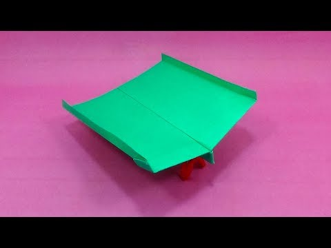 How to Make a Paper Airplane Easy - Best Paper Jet Plane That Fly Far - Origami Cool Airplane