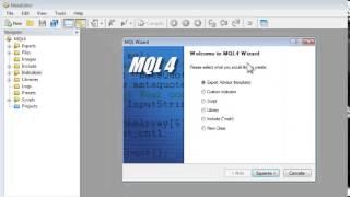Curso MQL4 completo Cap. 1 Introducción e Interfase de MetaEditor