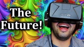 INSANE Oculus Rift Experience! | Welcome to Oculus | Oculus Rift DK2 Game