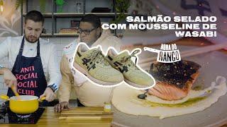 RECEITA DE SALMÃO SELADO COM MOUSSELINE DE WASABI - Hora do Rango