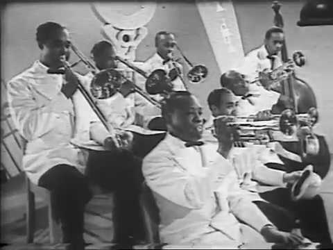 Soundie: Louis Armstrong & His Orchestra - Shine (1942)