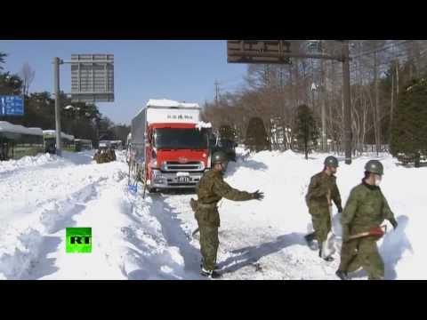17 человек погибли из-за снегопадов в Японии