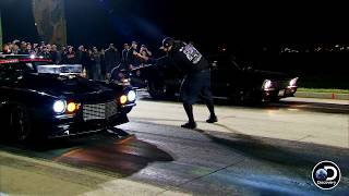 Watch Murder Nova Take This Hit By A Nose | Street Outlaws