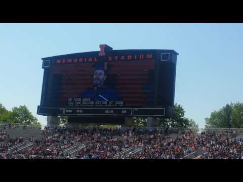 Nick Offerman Commencement Speech at Illinois University