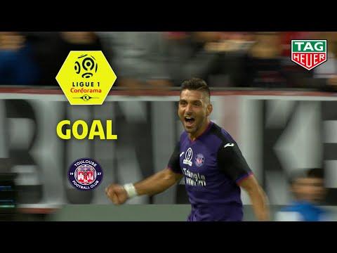 Goal Efthymios KOULOURIS (89') / Stade Brestois 29 - Toulouse FC (1-1) (BREST-TFC) / 2019-20