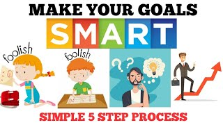 Smart goal setting • 5 Step process for goal setting • Tamil motivation • Mr Naveen Kumar