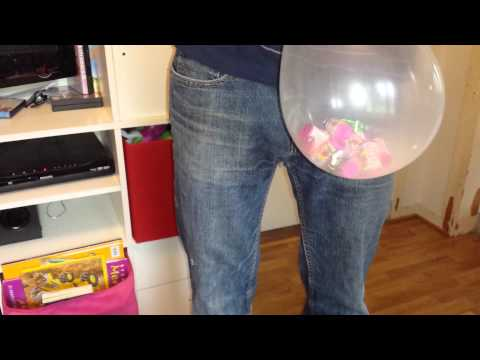 how to make a balloon stuffer machine