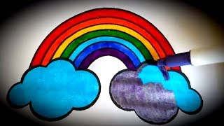 Colouring Pages / How To Color a Rainbow / Coloring and Painting