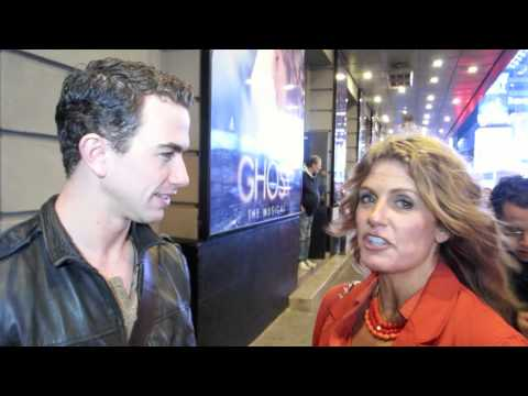 GHOST THE MUSICAL - BROADWAY STAGE DOOR