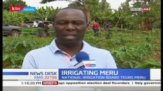 National irrigation board tours Meru County to inspect irrigation projects