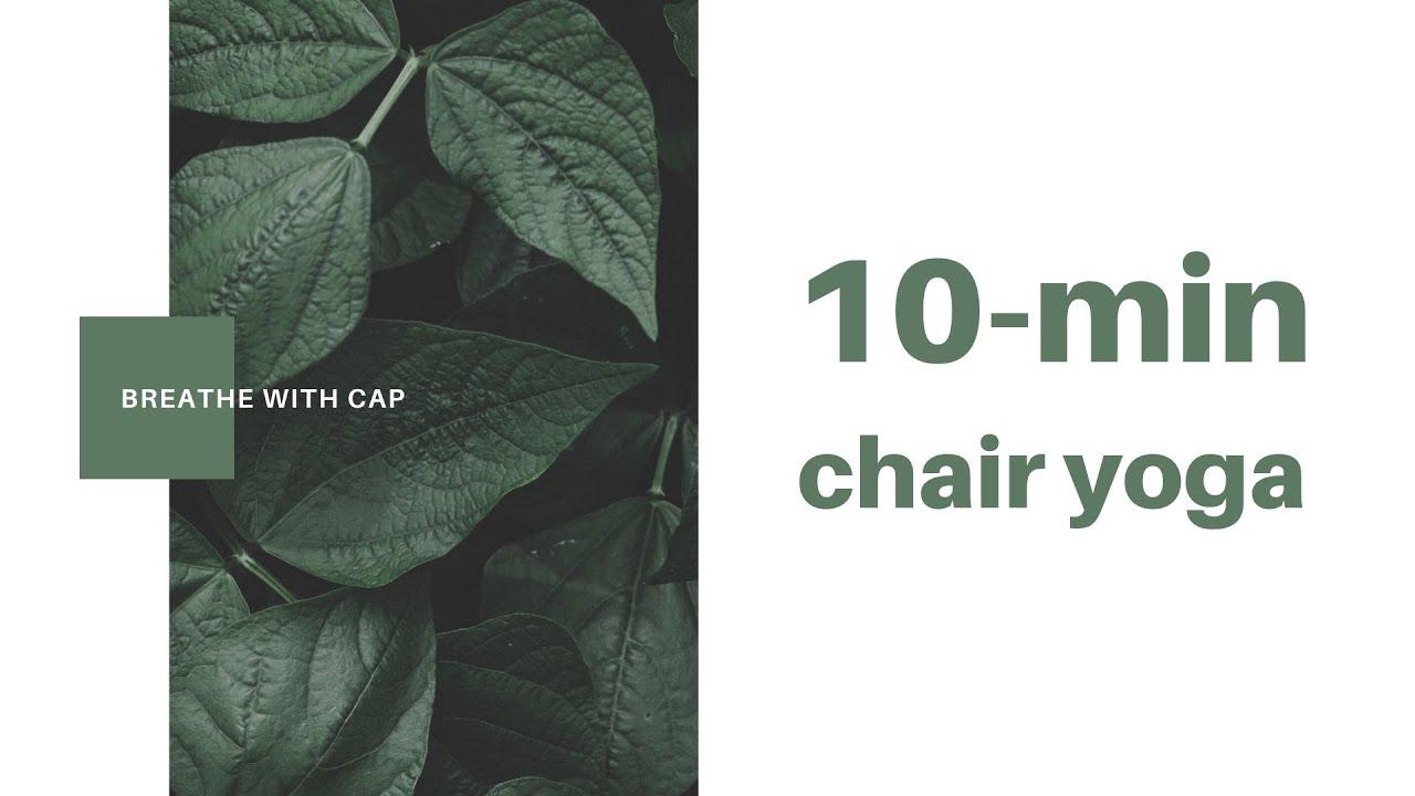 10-min Chair Yoga