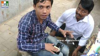 Mobile Tamper Glass Fitting | Dongri Market  | Mumbai City | INDIA | 4K VIDEO