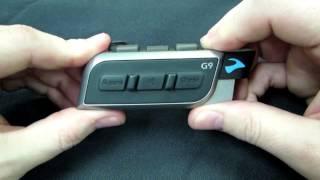 Cardo Systems: scala rider G9 Bluetooth Reset