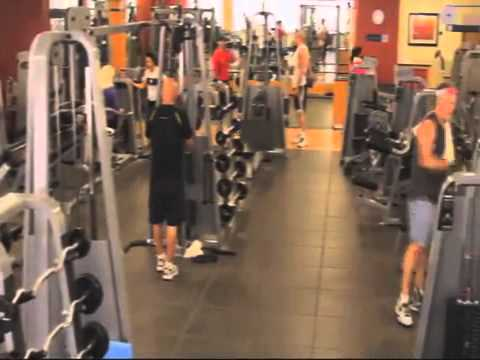 The gym guy verandah club hilton anatole dallas youtube