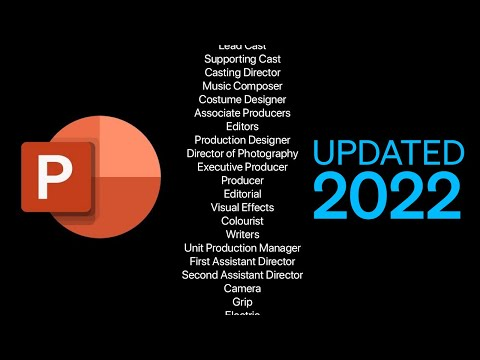 How To Make Movie Credits In PowerPoint [UPDATED 2019]