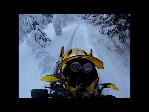 Снежная зима на BRP MXZ550 2018