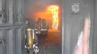 Ross Davenport At Derbyshire Fire And Rescue  - Training To Be A Retained Firefighter