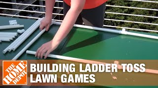 How To Build a Ladder Toss Lawn Games | The Home Depot