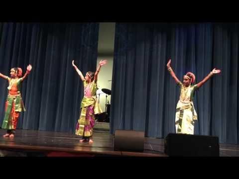 Keertana dance in 2016 Tasf Ugadi celebrations