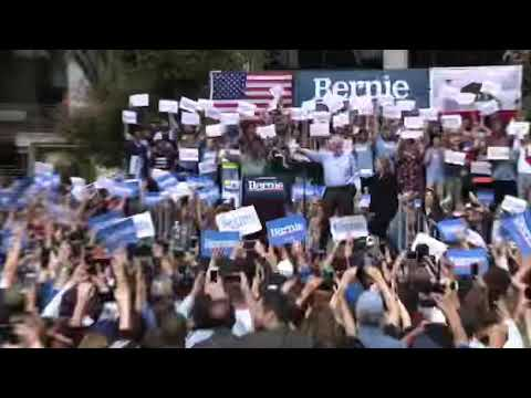 Bernie Sanders in Los Angeles Bernie Sanders holds his first 2020 campaign stop in Los Angeles. Thousands attend the rally in Grand Park. He also became the first presidential candidate in ..., From YouTubeVideos