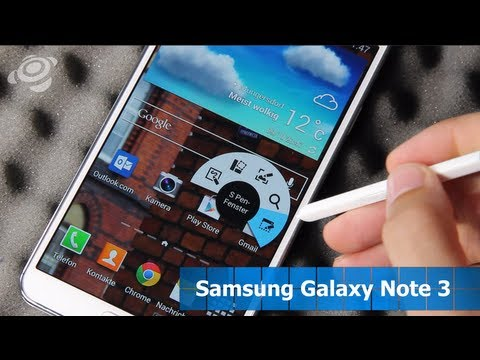 Samsung Galaxy Note 3 im Test