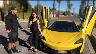 She made me choose between Mclaren or HER!?