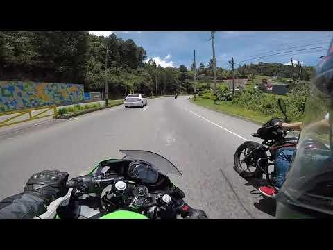 Kawasaki Ninja 400 2019 KRT Edition   Hill Climb   Subida A Palmas Medellin Colombia
