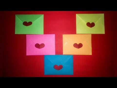 DIY Mini Envelope   How to make Mini Envelope