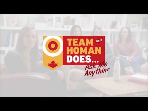 Team Homan Does… Ask Me Anything – NEW SERIES BY BOOST®