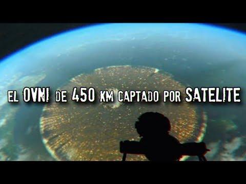 El OVNI de 450 KM sobre Chile captado por satélite