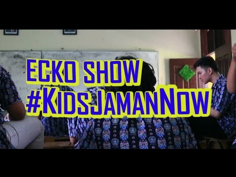 Free Download Ecko Show - Kids Jaman Now ( Prod. By Jatan & Popobeat ) [ Cover Parodi Video Music ] Mp3 dan Mp4