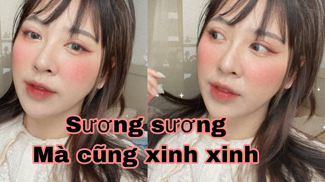 Trang điểm sương sương theo thử thách của bạn thân   MaiHuong Makeup