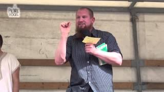 Pierre Vogel  widerlegt Rechtspopulisten (Open Air Freiburg 07.06.14)
