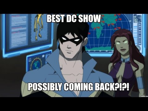 BEST DC SHOW POSSIBLY RETURNING!??! Young Justice on Netflix!