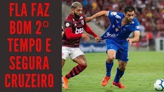 Flamengo de Abel joga bem no 2º tempo e vence o decepcionante Cruzeiro de Mano
