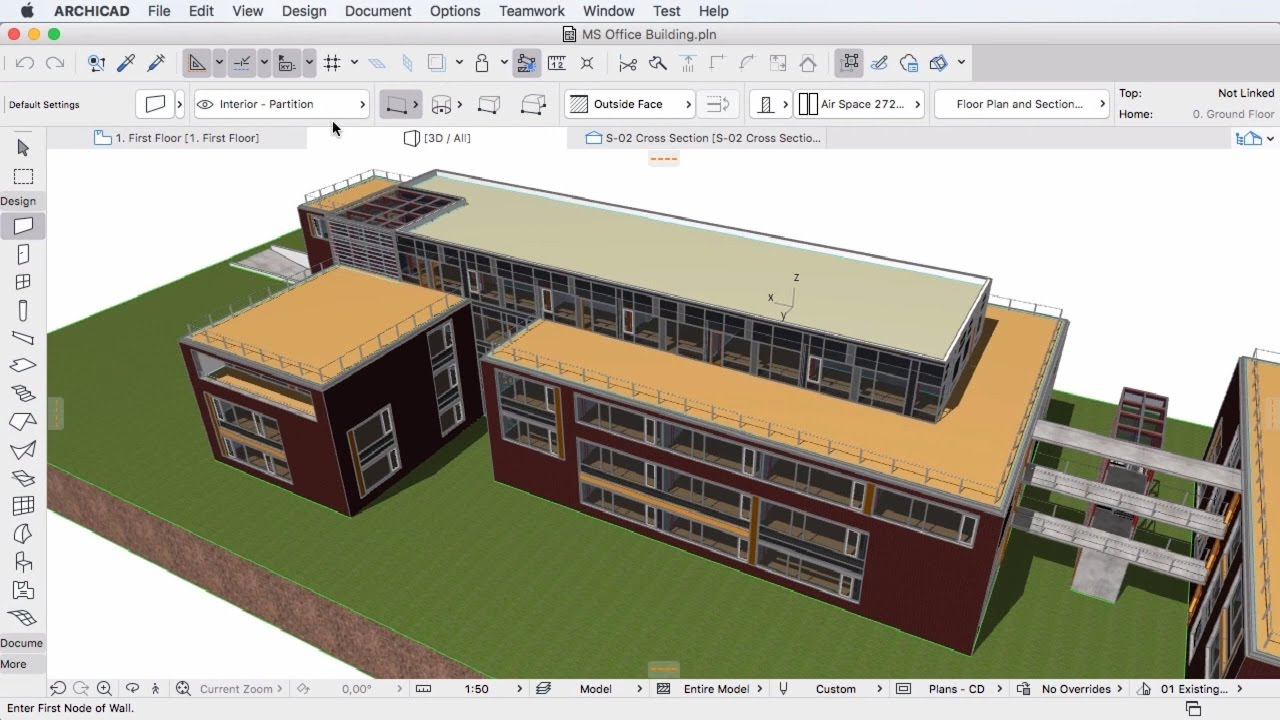 Bim with archicad youtube for 3d architecture software online