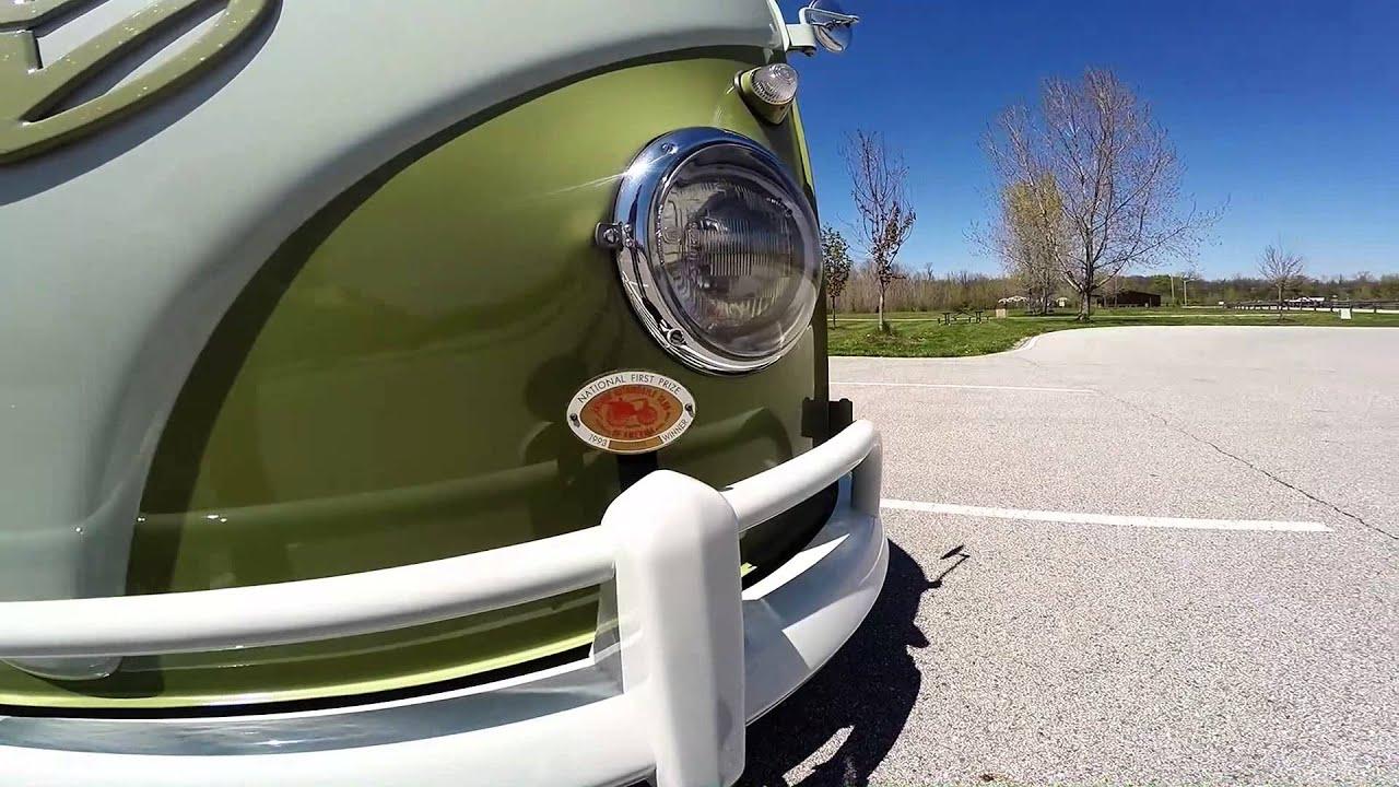 1959 VW Microbus 24 800 original miles walk around