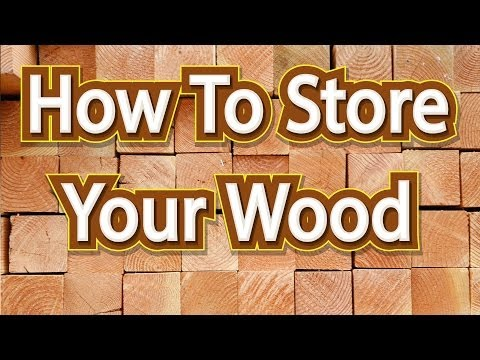 How to store your milled lumber and a look at my dry storage