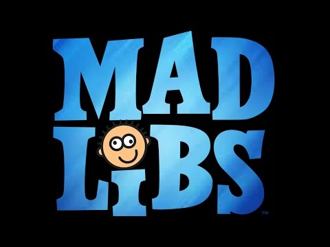 ADULT MAD LIBS!!!! (How to Use a Tampon)