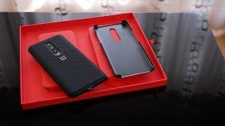 Schutz für dein OnePlus 7 (Pro) - Original Nylon Bumper und Sandstone Case im Test