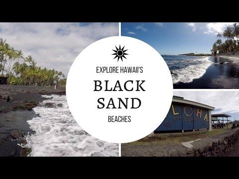 Black Sand Beach Exploring - Punalu