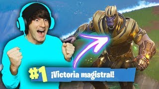 COMO DESTRUIR A THANOS! Fortnite Battle Royale